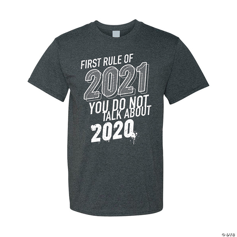 First Rule of 2021 Adult's T-Shirt Image Thumbnail