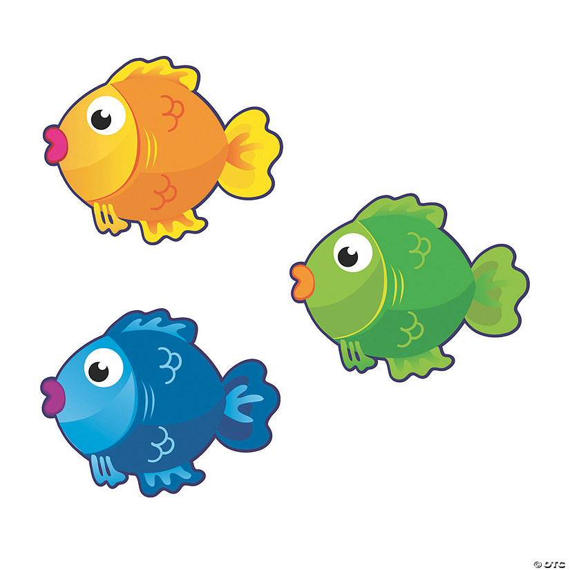 Fish Bulletin Board Cutouts
