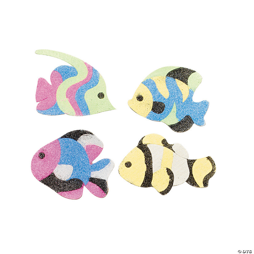 Fish Sand Art Magnet Craft Kit Audio Thumbnail