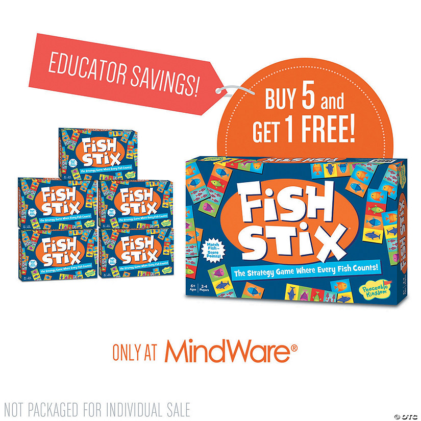 Fish Stix: Classroom Set of 6 Audio Thumbnail