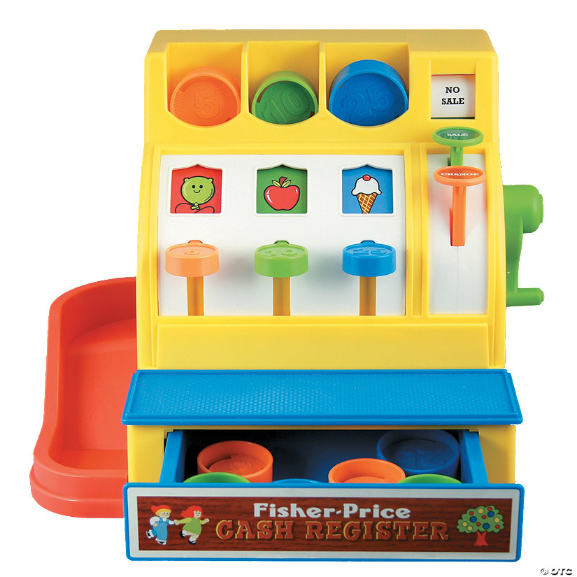 Fisher-Price Classic Cash Register Image Thumbnail