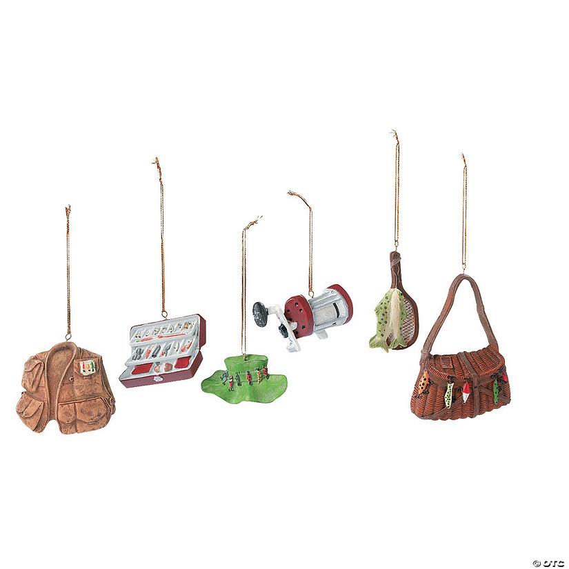 Fishing Christmas Ornaments - Fishing Christmas Ornaments - Discontinued