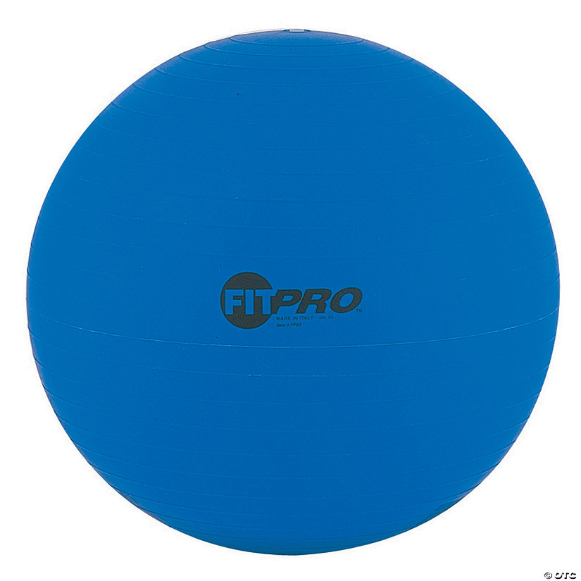 Fitpro Training & Exercise Ball, 53cm, Blue