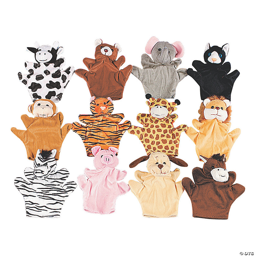 Five Finger Stuffed Animal Hand Puppets Audio Thumbnail