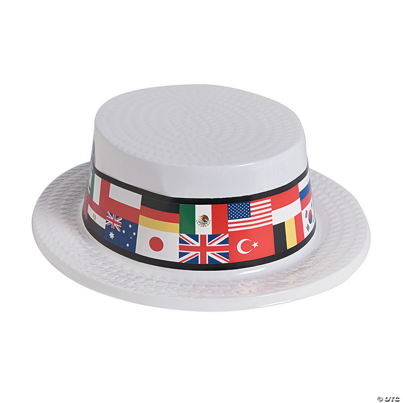 Flags of All Nations Skimmer Hats Audio Thumbnail