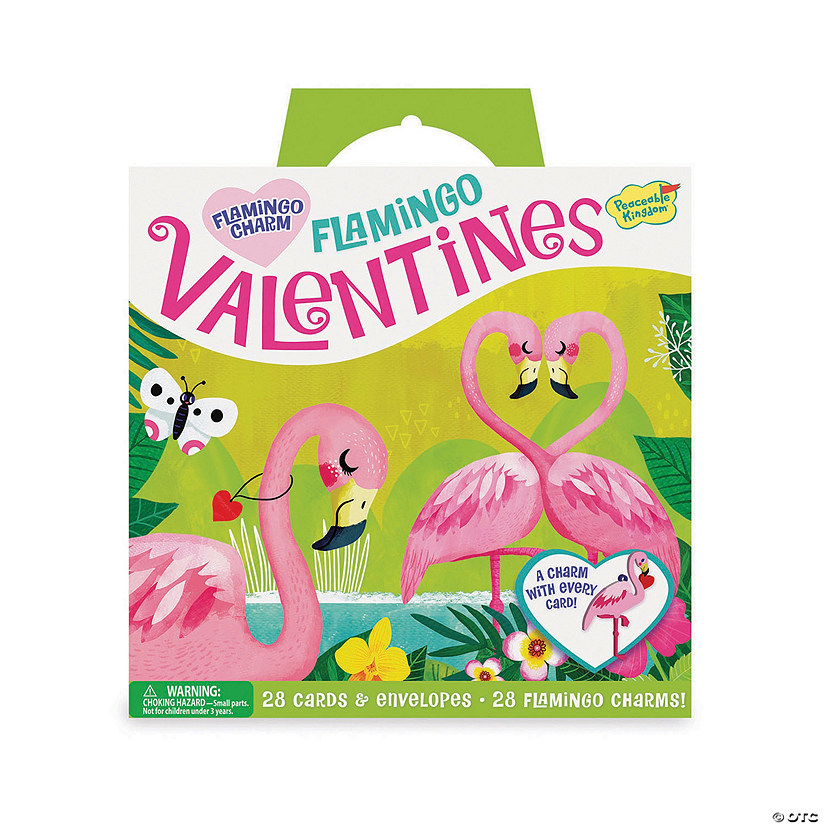 Flamingo Charm Super Fun Valentine Pack Image Thumbnail