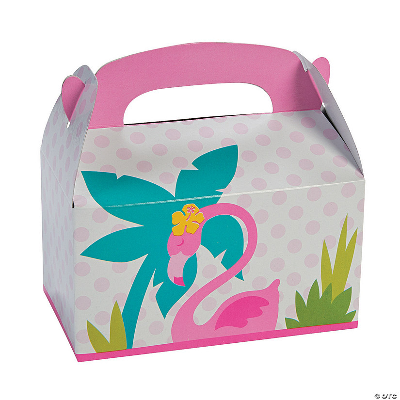 Flamingo Favor Boxes Image Thumbnail