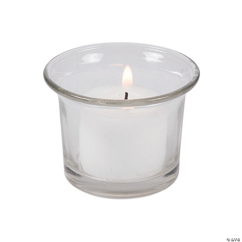 Flared Clear Votive Candle Holders