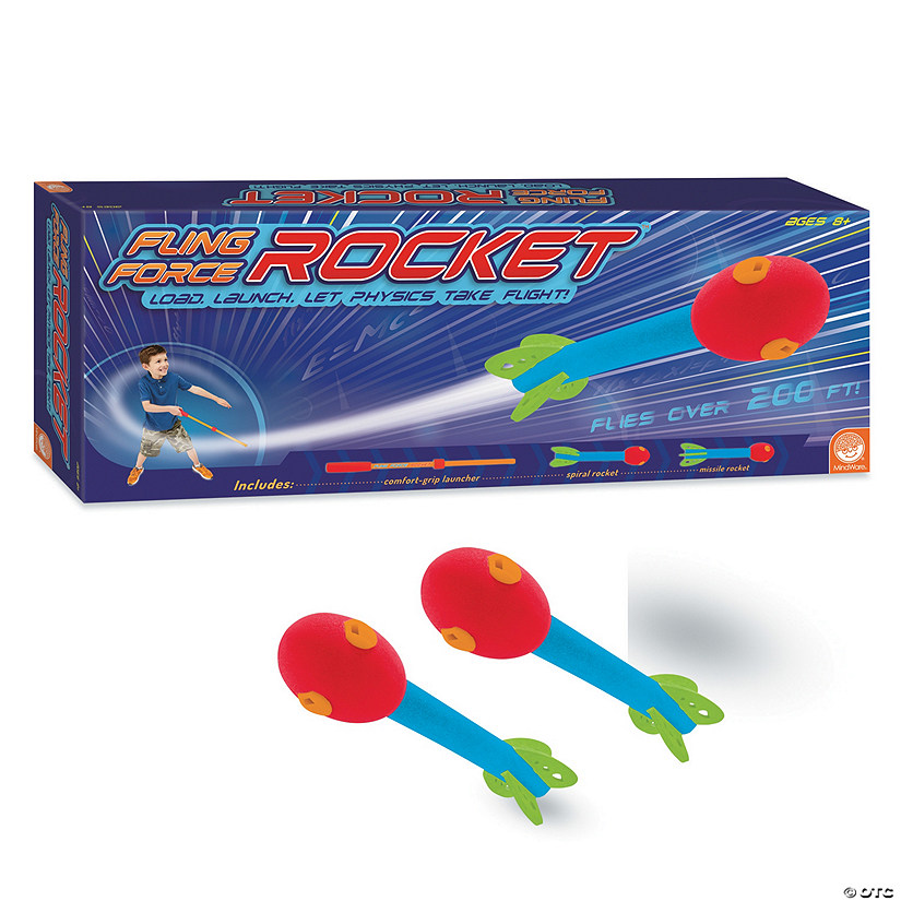 Fling Force Rocket and Refill Set: Set of 2 Audio Thumbnail