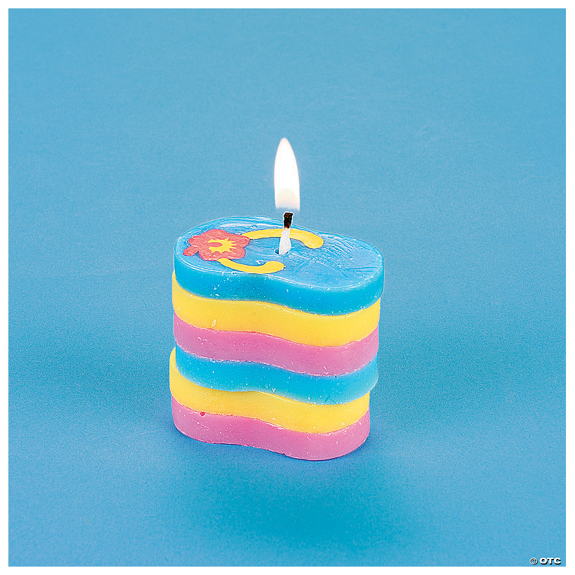 Flip Flop Stacking Candle Craft Kit Discontinued