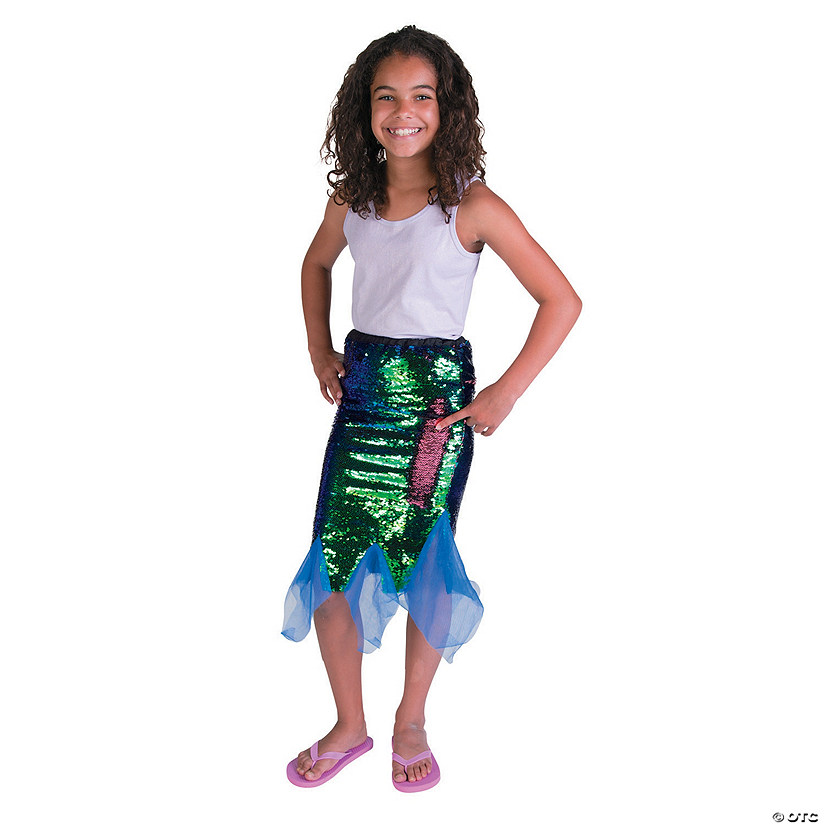 Flipping Sequins Mermaid Skirt - Large Audio Thumbnail