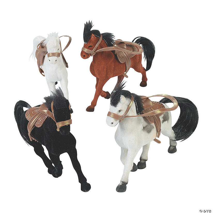 Flocked Horses with Saddle Audio Thumbnail