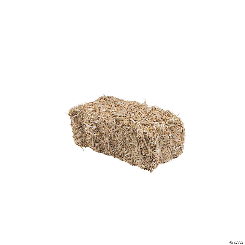 "FloraCraft<sup>&#174;</sup> Decorative Straw Hay Bale - 13"" Image Thumbnail"
