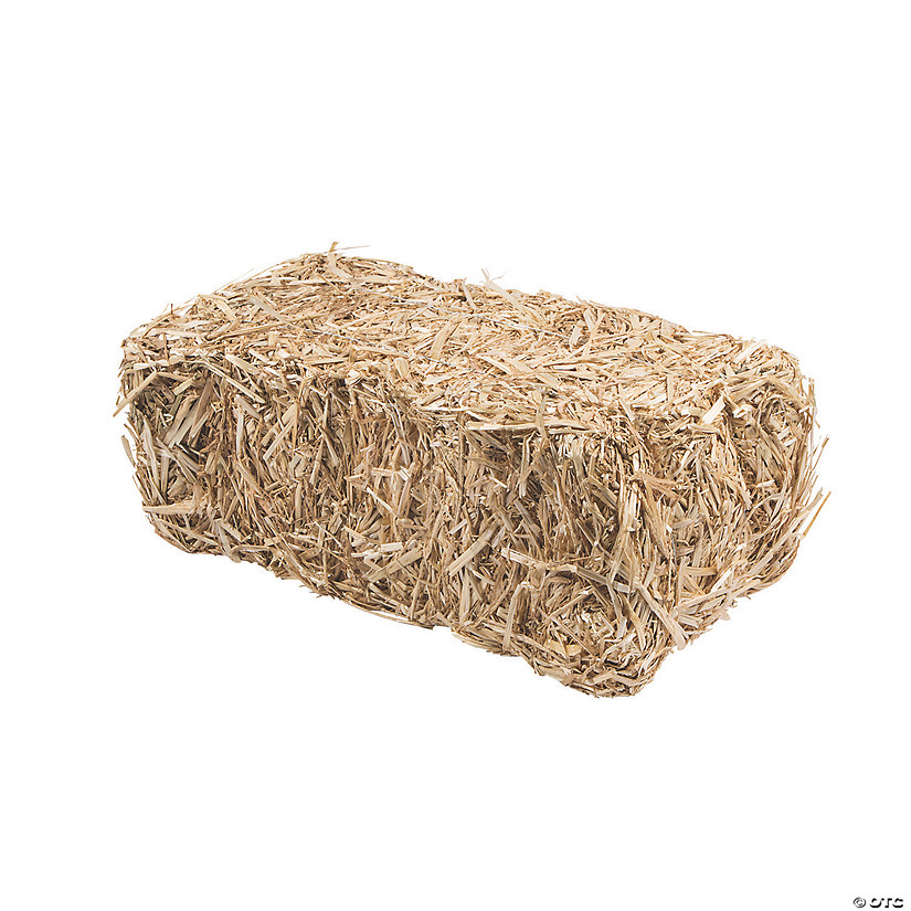 "FloraCraft<sup>&#174;</sup> Decorative Straw Hay Bale - 20"" Image Thumbnail"