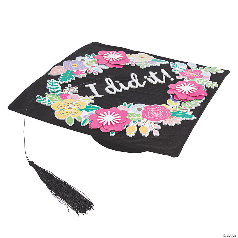 Floral Mortarboard Decorating Kit Audio Thumbnail