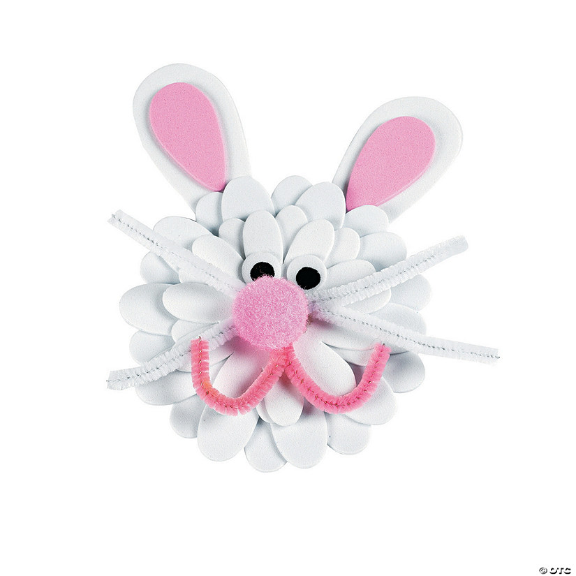 Flower Bunny Magnet Craft Kit Audio Thumbnail