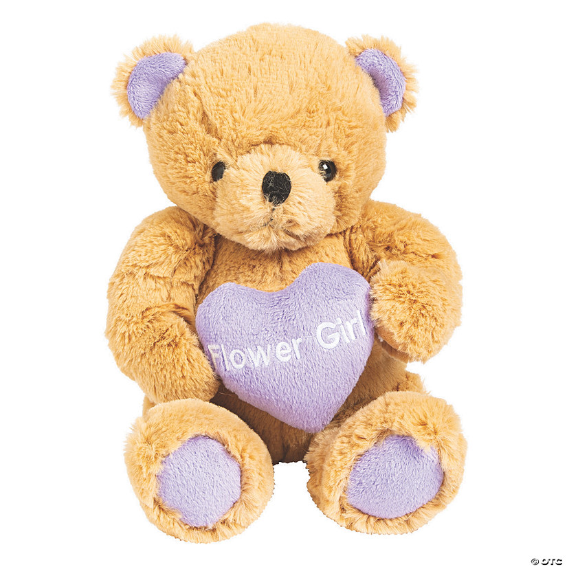 Flower Girl Stuffed Teddy Bear Audio Thumbnail