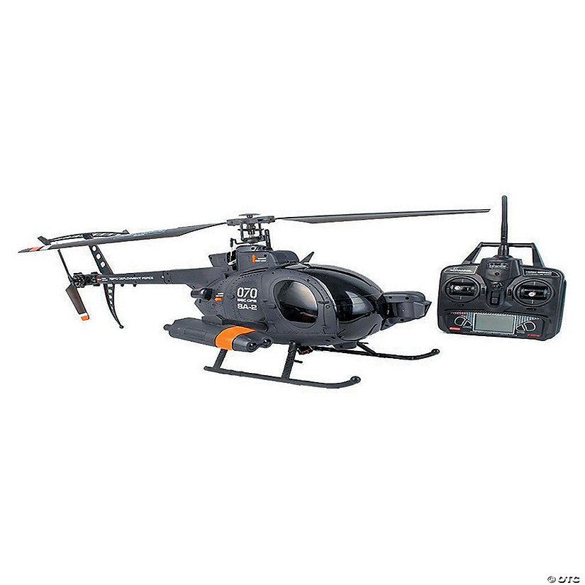 flybarless 6-axis-gyro 4 channel rc helicopter