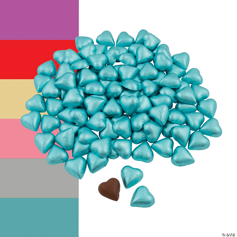 Foil-Wrapped Milk Chocolate Hearts Audio Thumbnail