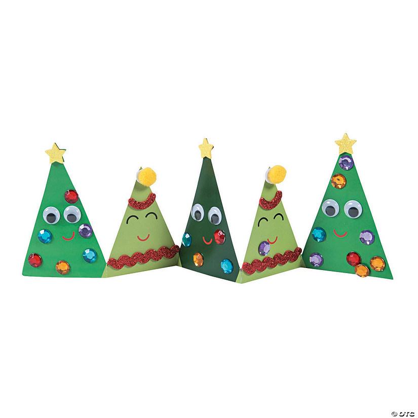 Christmas Tree Stands.Folding Christmas Tree Stand Up Craft Kit