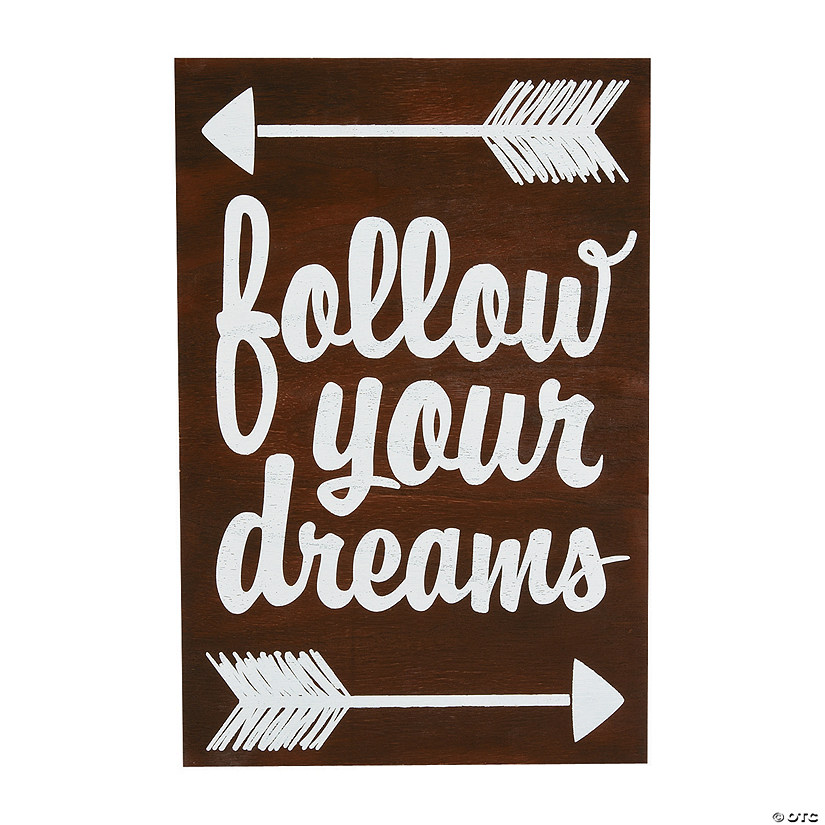 Follow Your Dreams Sign Image Thumbnail