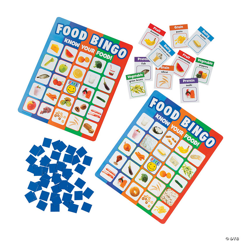 Food Recognition Premium Bingo Game
