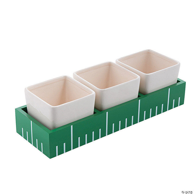 Football Condiment Tray
