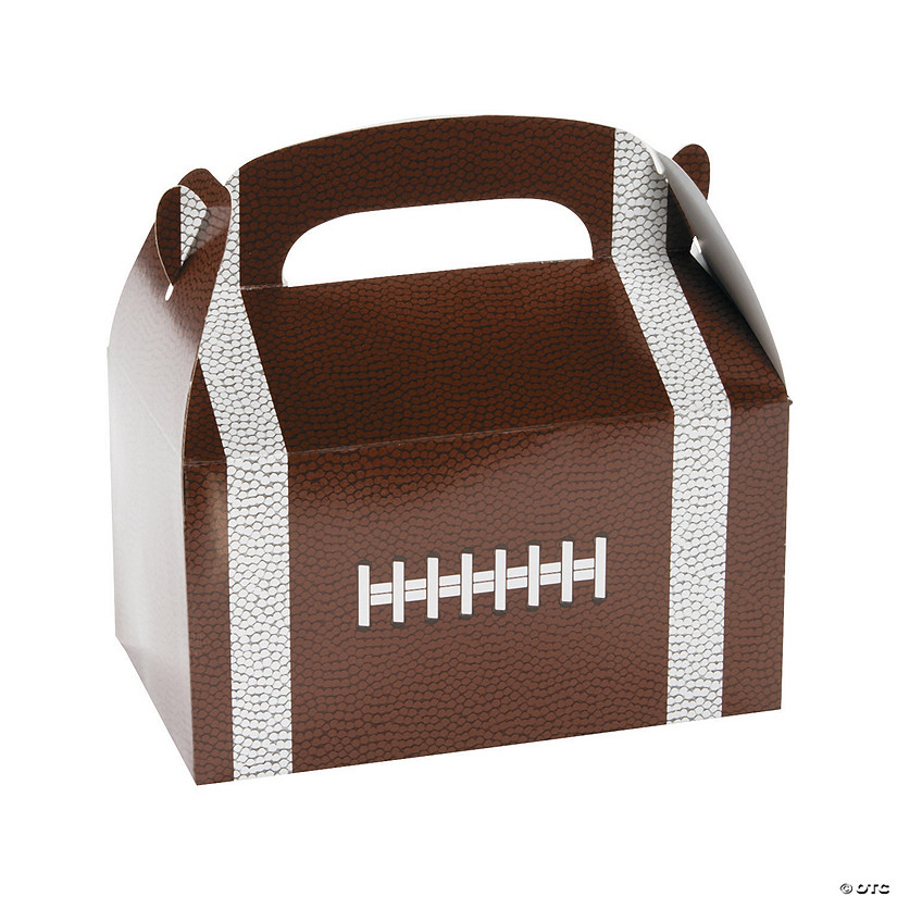 Football Favor Boxes with Handle Image Thumbnail