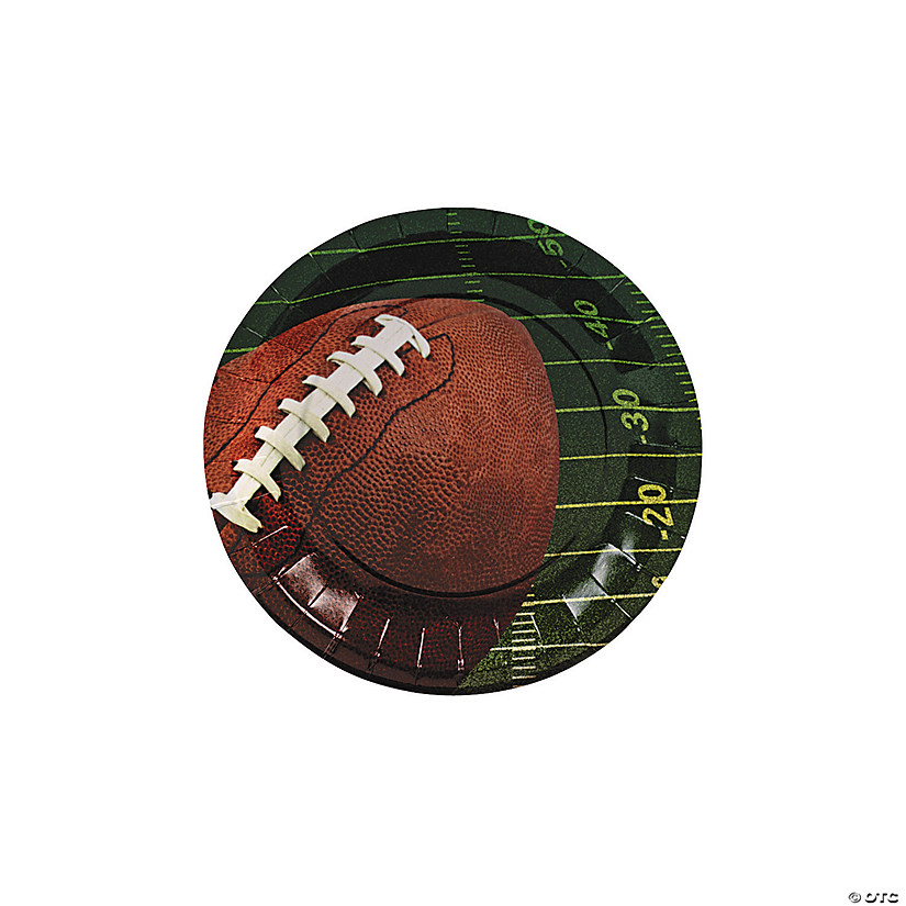 Football Paper Dessert Plates Audio Thumbnail