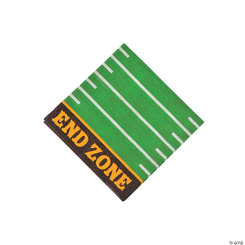 Football Party Beverage Napkins