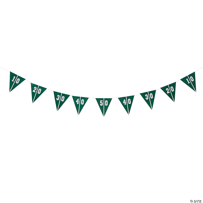 Football Party Pennant Banner Audio Thumbnail