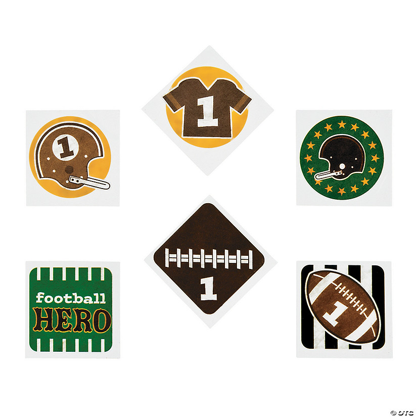 Football Party Tattoos