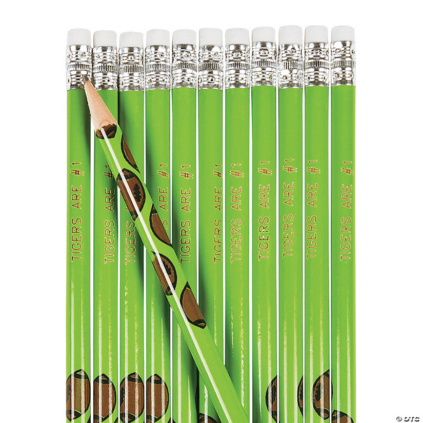 Football Pencils - 24 Pc. Image Thumbnail