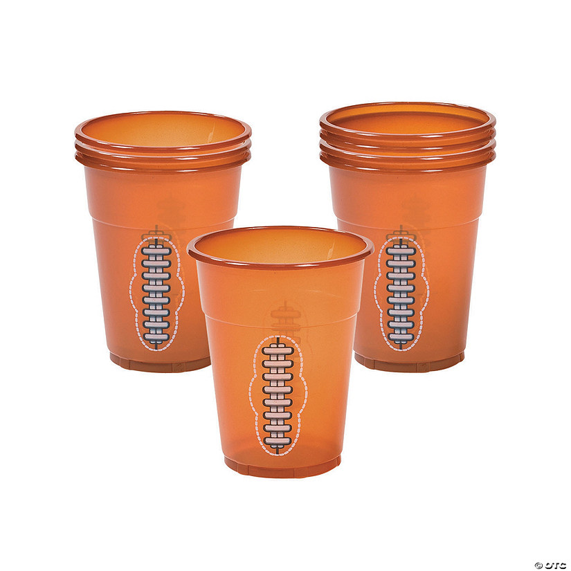 Football Plastic Cups Image Thumbnail