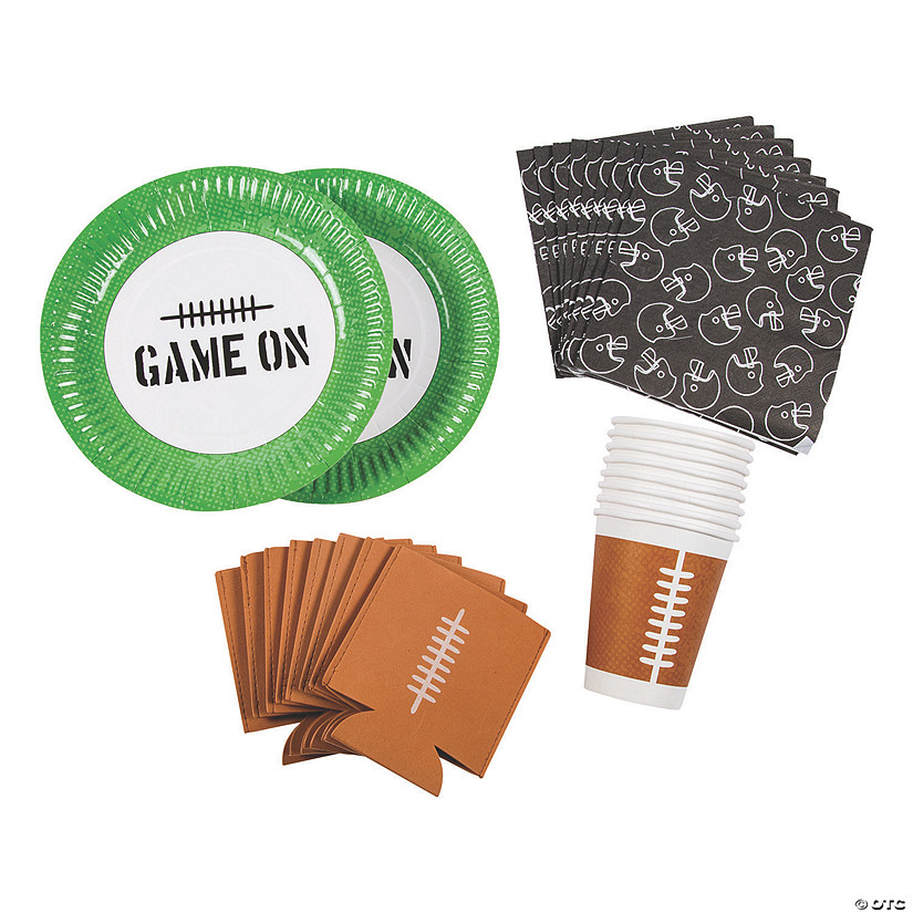 Football Tailgate Tableware Kit for 8 Image Thumbnail