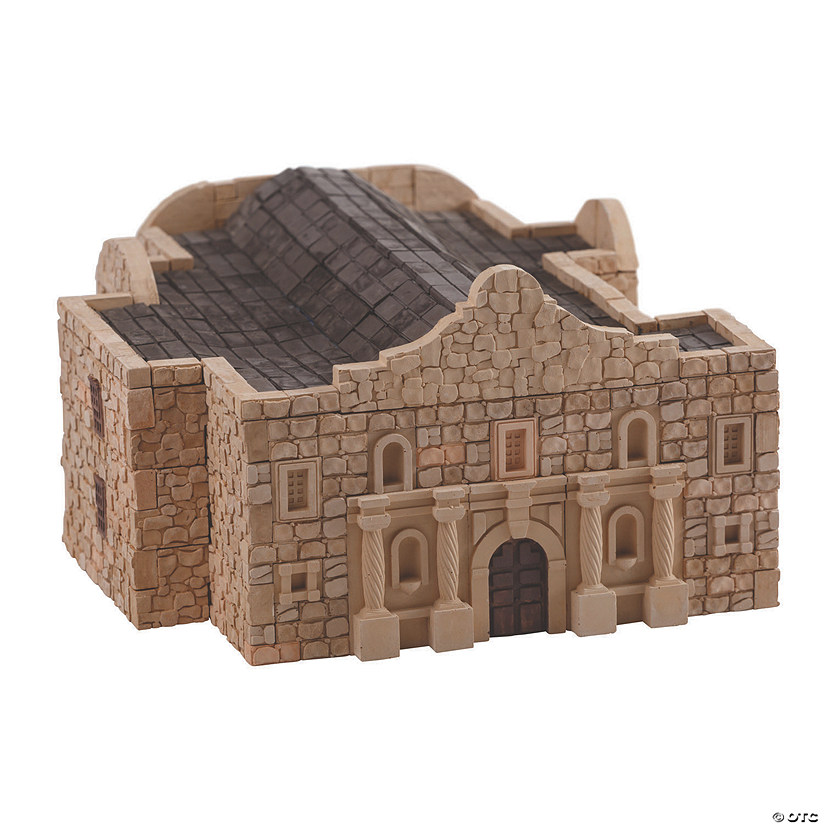 Fort Alamo Re-Usable Brick Construction Set Audio Thumbnail