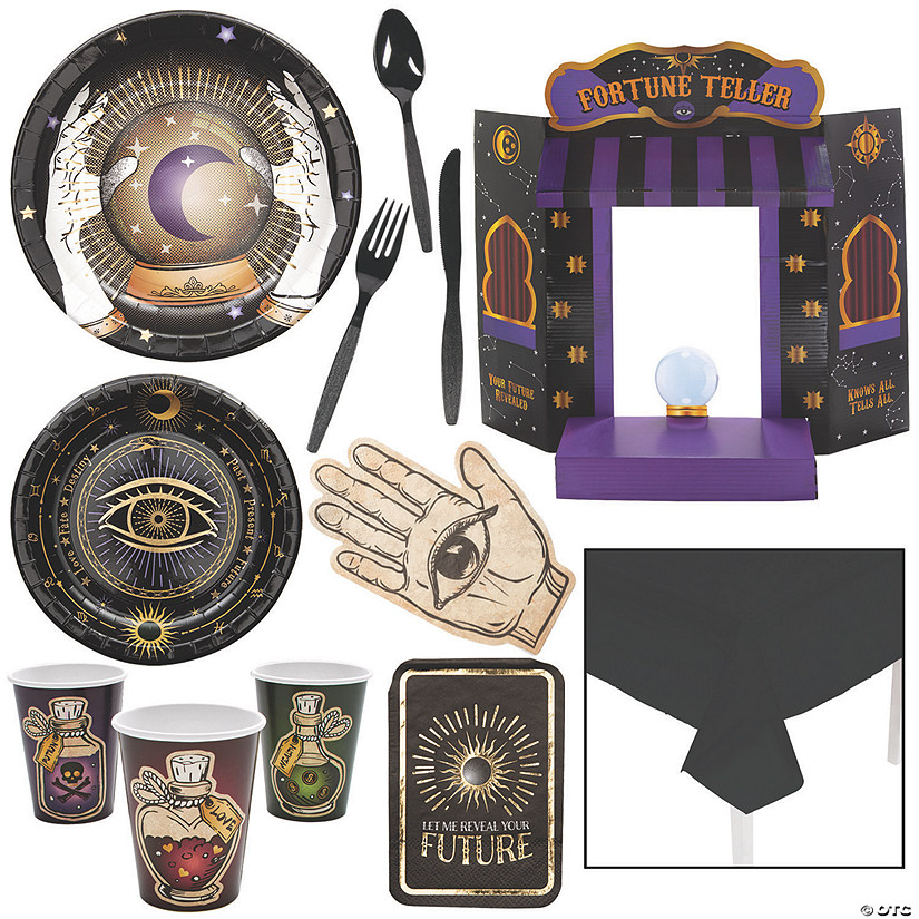 Fortune Teller Tableware Kit for 24 Guests Image Thumbnail