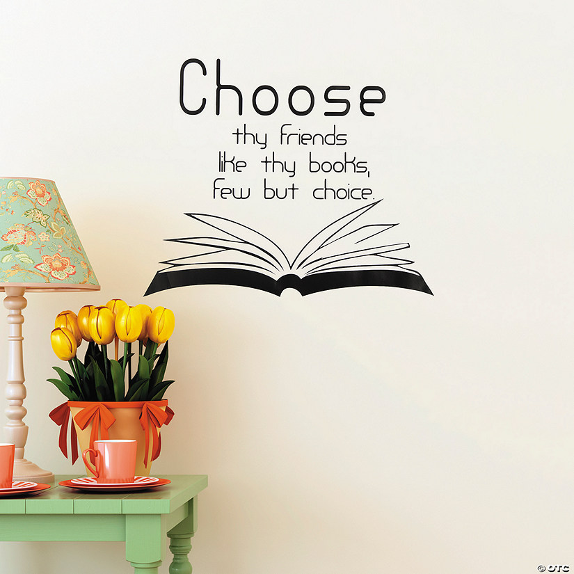 Friends Like Books Wall Decals Audio Thumbnail