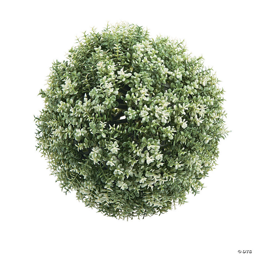 Frosted Greenery Décor Ball Audio Thumbnail