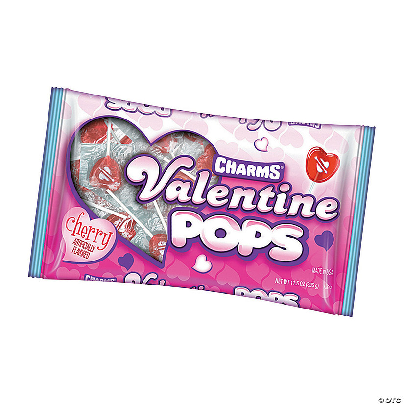 Frosted Heart Valentine Lollipops