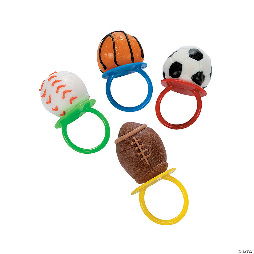 Frosted Sport Ball Ring Lollipops Audio Thumbnail