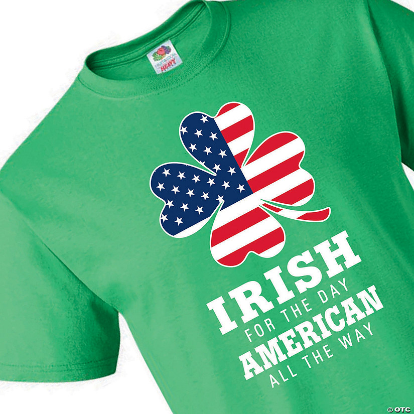 Fruit of the Loom<sup>&#174;</sup> HD Cotton&#8482; Adult&#39;s Short Sleeve Irish for the Day T-Shirt Audio Thumbnail