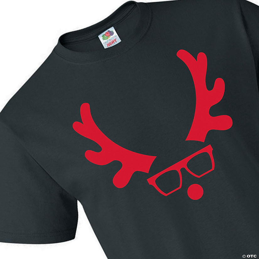 Fruit of the Loom<sup>&#174;</sup> HD Cotton<sup>&#8482;</sup> Adult&#8217;s Reindeer Christmas T-Shirt