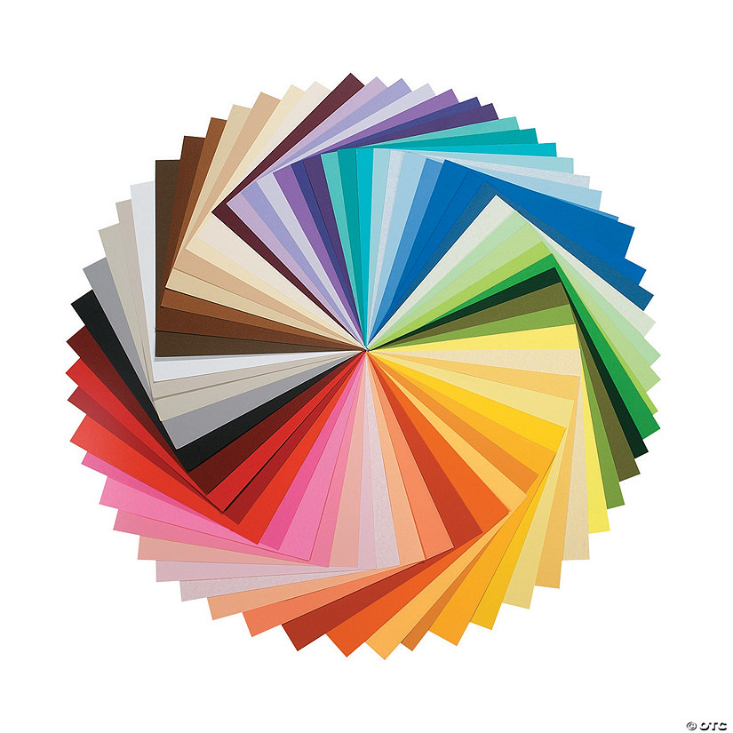 Full Color Spectrum Paper Pack