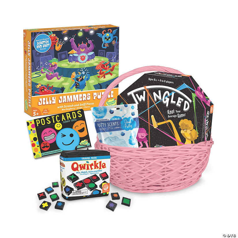 Fun and Games Easter Basket: Ages 6+ Audio Thumbnail