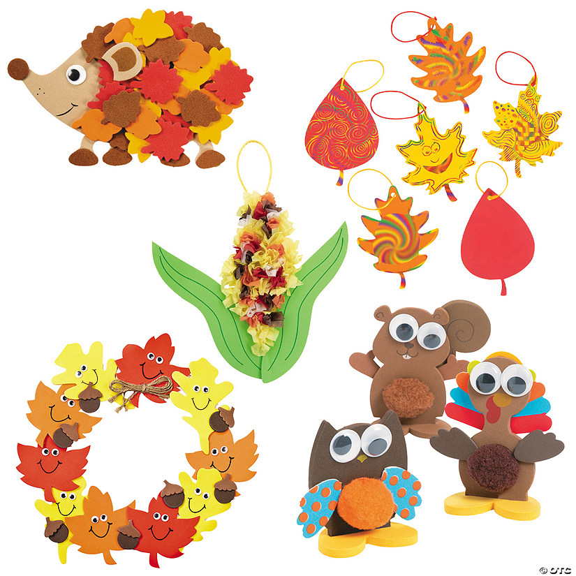 Fun Fall Craft Assortment Image Thumbnail