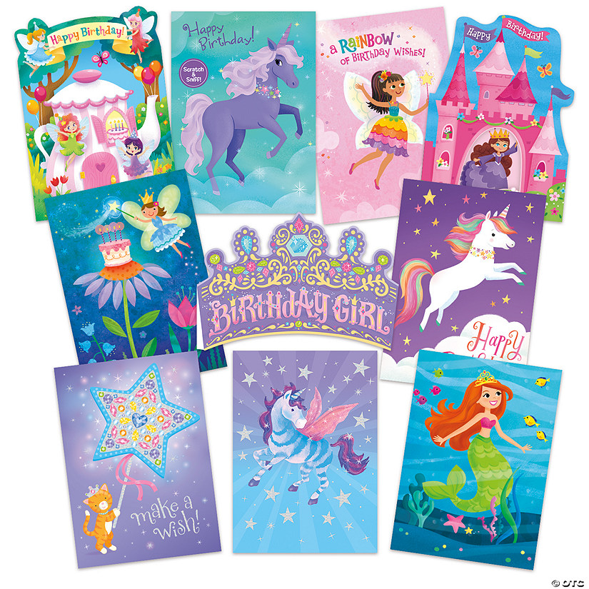 Fun Fantasy 10 Card Assortment Pack
