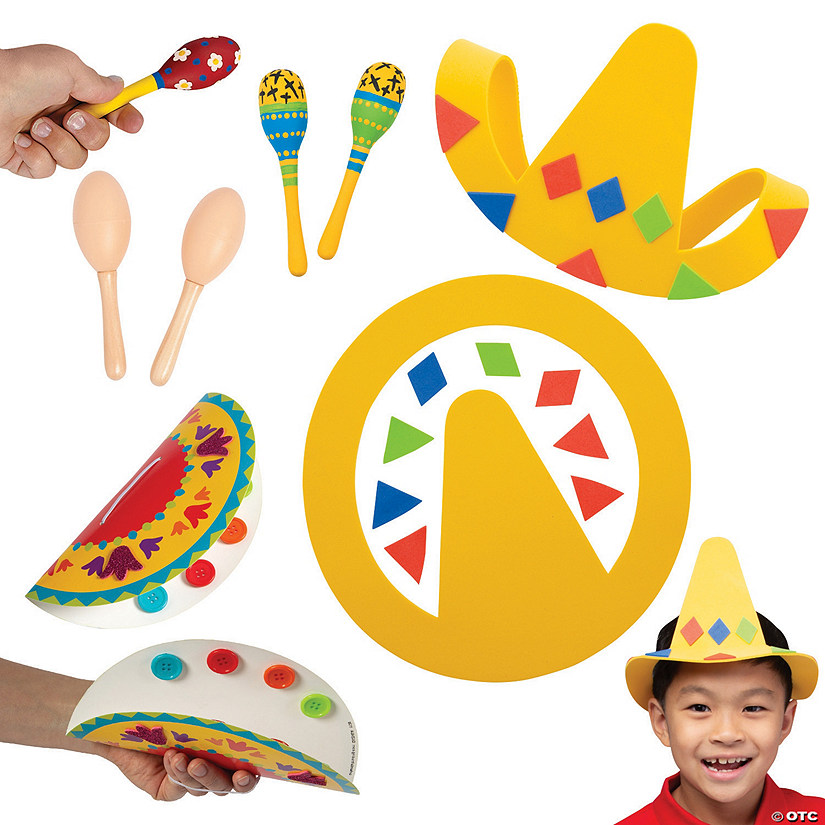 Fun Fiesta Craft Assortment Image Thumbnail