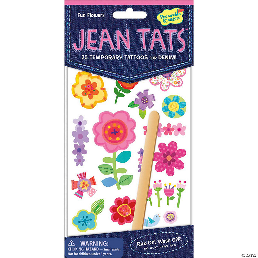 Fun Flowers Jean Tats Pack Image Thumbnail