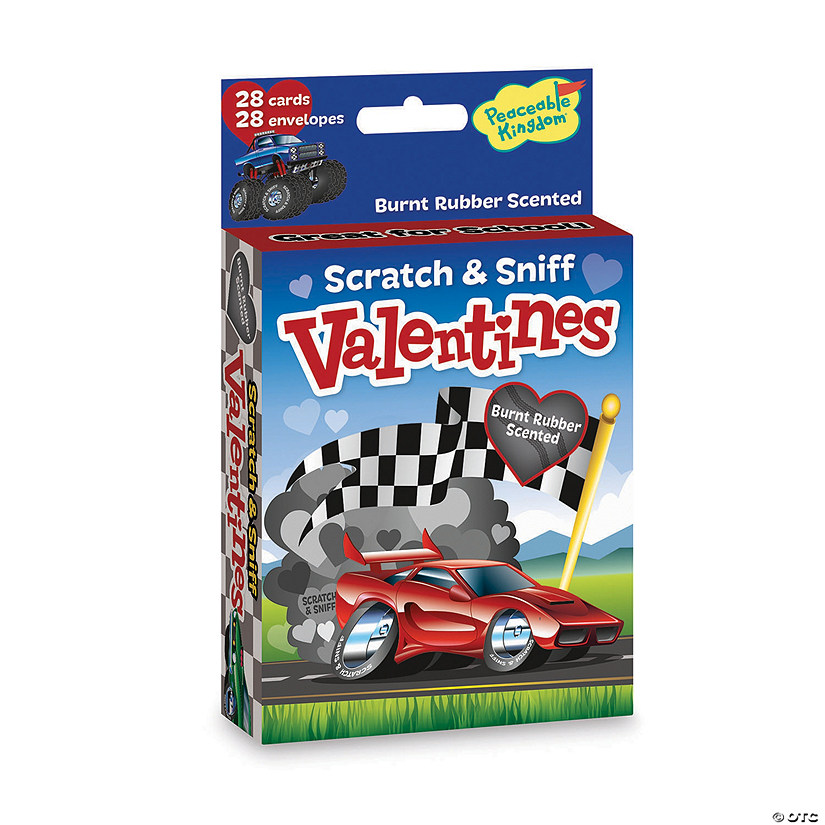 Fun on Wheels Scratch and Sniff Valentines